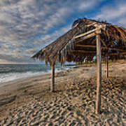 Surf Shack Print by Peter Tellone