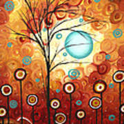 Surrounded By Love By Madart Print by Megan Duncanson