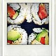 Sushi Print by Les Cunliffe