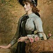 Sweet Emma Morland Print by Sir John Everett Millais