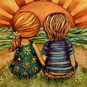 Sweethearts Print by Karin Taylor