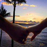 Take My Hand Print by Doug Kreuger