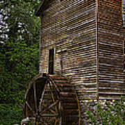 Tall Mill Print by Dave Bosse