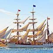 Tall Ship Print by Bill  Robinson