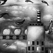 Tangerine Dream Edit 3 Print by Leah Saulnier The Painting Maniac
