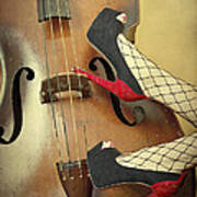 Tango For Strings Print by Evelina Kremsdorf