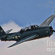 Tbm-3 Avenger Print by Tommy Anderson