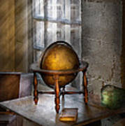 Teacher - Around The World Print by Mike Savad