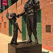 Ted Williams Print by Paul Mangold