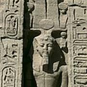 Temple Of Nefertari Dedicated Print by Everett