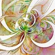 Tendrils 06 Print by Amanda Moore