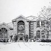 Texas Home 2 Print by Hanne Lore Koehler