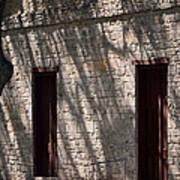 Texas Pioneer Church Doors Print by Connie Fox