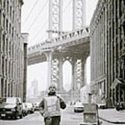 The Artist In New York Print by Shaun Higson