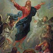 The Ascension Print by Jean Francois de Troy