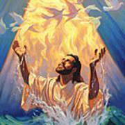 The Baptism Of Jesus Print by Jeff Haynie