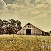 The Barn 2 Print by Cheryl Young