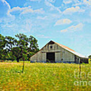 The Barn Print by Cheryl Young