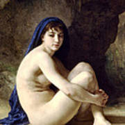 The Bather Print by William Bouguereau