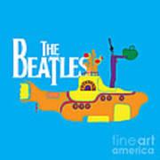The Beatles No.11 Print by Caio Caldas