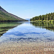 The Best Beach In Glacier National Park Print by Scotts Scapes
