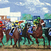 The Bets Are On Again Print by Anthony Falbo