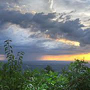 The Blue Ridge Mountains Print by Debra and Dave Vanderlaan