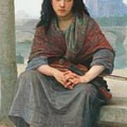 The Bohemian Print by William Adolphe Bouguereau