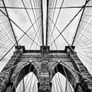 The Brooklyn Bridge Print by John Farnan