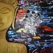 The Buddha Way Print by Meenakshi Chatterjee