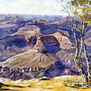 The Canyon Print by Lee Piper