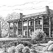 The Carnton Plantation In Franklin Tennessee Print by Janet King