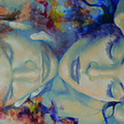 The Celestial Consonance Print by Dorina  Costras