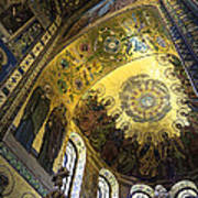 The Church Of Our Savior On Spilled Blood 2 - St. Petersburg - Russia Print by Madeline Ellis