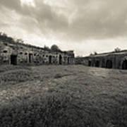 The Citadel At Fort Macomb Print by David Morefield