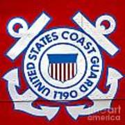 The Coast Guard Shield Print by Olivier Le Queinec