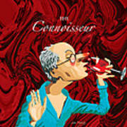 The Connoisseur Print by Johnny Trippick
