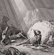 The Conversion Of St. Paul Print by Gustave Dore