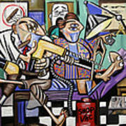 The Dentist Is In Root Canal Print by Anthony Falbo