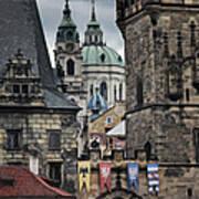 The Depths Of Prague Print by Joan Carroll