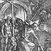 The Descent Of Christ Into Limbo Print by Albrecht Duerer