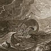 The Dioscuri Protect A Ship, 1731 Print by Bernard Picart