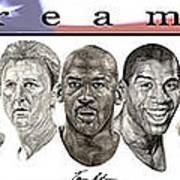 the Dream Team Print by Tamir Barkan
