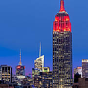 The Empire State Building Print by Susan Candelario