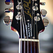 The Epiphone Les Paul Guitar Print by David Patterson