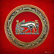 The Eye Of Horus Print by Serge Averbukh