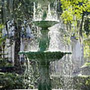 The Fountain Print by Mike McGlothlen