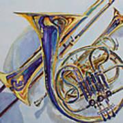 The Glow Of Brass Print by Jenny Armitage
