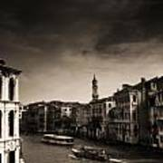 The Grand Canal Print by Aaron S Bedell