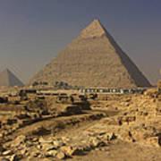 The Great Pyramids Of Giza Egypt  Print by Ivan Pendjakov